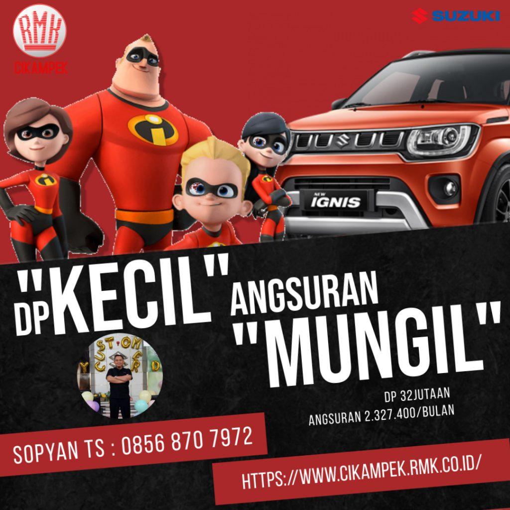 Promo Ignis Suzuki RMK Cikampek